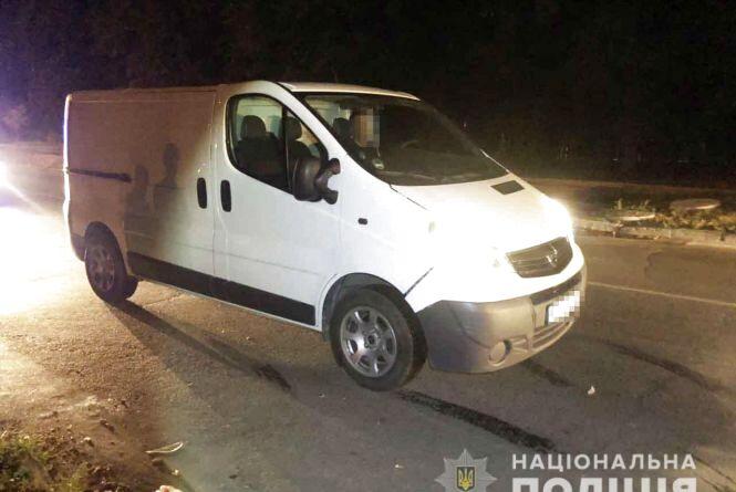 Аварія на Первозванного: водій на Opel збив вінничанина, який вибіг на дорогу