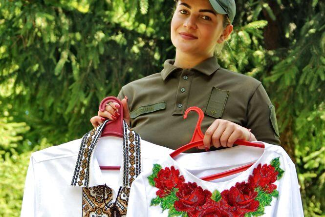 «Дістала гранату і кинула услід танку» У свої 22 роки вінничанка командує взводом і вишиває весільну сукню