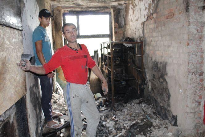 «Проснулися від крику «Горимо!» На яку допомогу можуть сподіватися  постраждалі від пожежі на Станіславського?