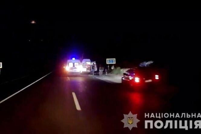 П'яне ДТП під Немировом: водій «ВАЗ» врізався у Sprinter. 5 дорослих та троє дітей у лікарні