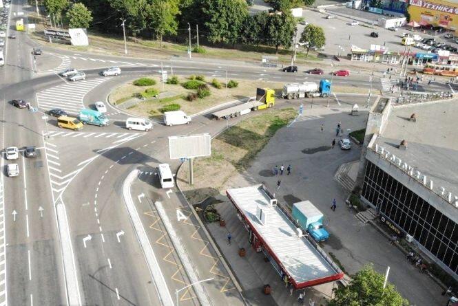 У ремонт перехрестя біля Західного автовокзалу вклали 1,3 мільйона гривень