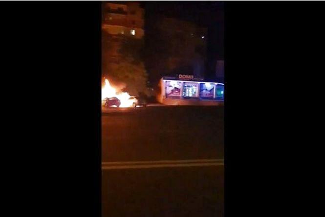 Вибухи на Київській: перші подробиці загорання автівок подружжя вінничан