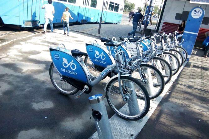 На Електромережі поцупили велосипед Nextbike. Шукають викрадача