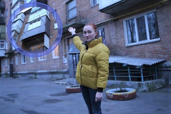 На 17 тисяч покарали жінку, бо «розширила» балкон