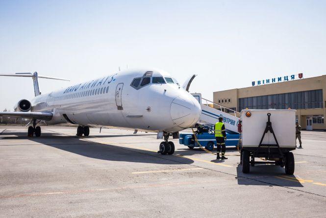 Скільки пасажирів прийняв аеропорт Вінниці у 2019 році