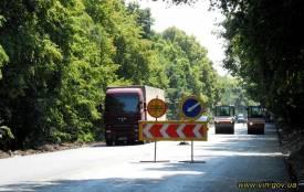 Автобан «GoHighway»: на Вінниччині тривають ремонтні роботи