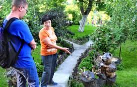 Зелений оазис замість пустиря. Як жінка змінила подвір'я на Коріатовичів