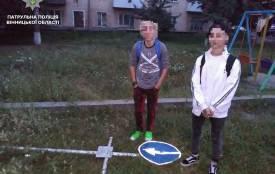 «Не вважає свої дії аморальними»: двоє вінничан вкрали з могили металевий хрест