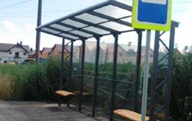 У місті встановили ще дві нові зупинки для громадського транспорту