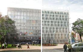 Вінничанин пропонує оновити фасад мерії. У мережі вже є варіанти