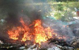 За спалювання листя і сміття — штраф до 1360 гривень. Вже виписують