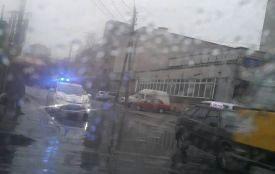 ДТП на «зебрі»: на перехресті Стеценка та Київської водій Sprinter збив хлопчика