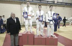 Юні вихованці МДЮСШ № 5 випередили чоловіків на чемпіонаті області з самбо