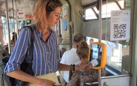 Е-квиток тестуватимуть на трамваї №5 до кінця вересня. Коли запустять систему?