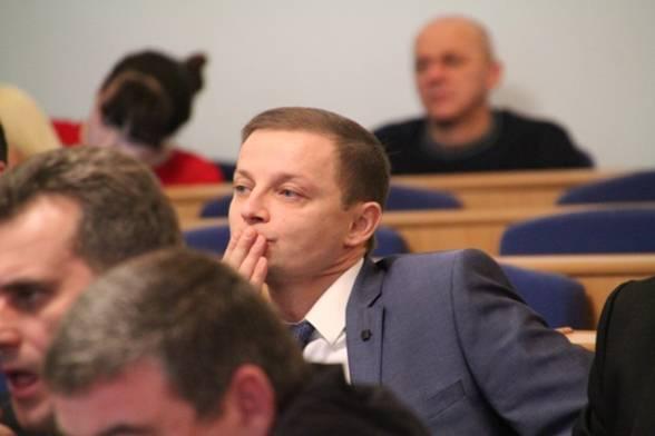 """Андрій Поліщук, гендиректор """"Вінницяобленерго"""", """"Солідарність"""""""