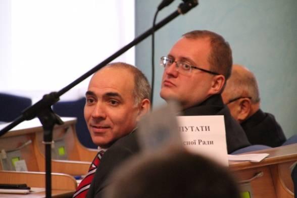 опозиціонери Юрій Яремчук і Олександр Побережець