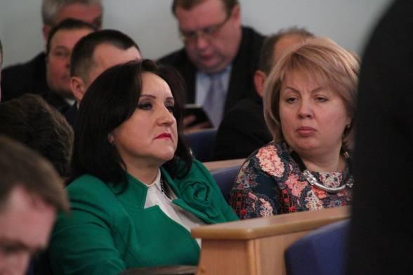"""Тетяна Редько і Людмила Головашич (""""Батьківщина)"""
