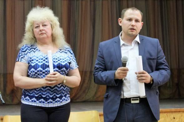 Яків Маховський, заступник директора департаменту архітектури; Валентина Ямпільська, департамент правової політики міськради