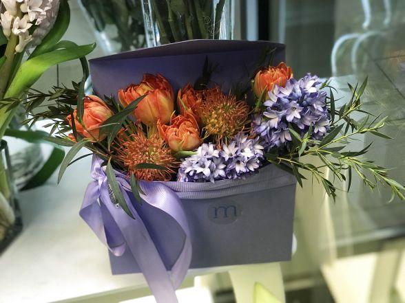 Невеликі квіткові компліменти за 300 гривень