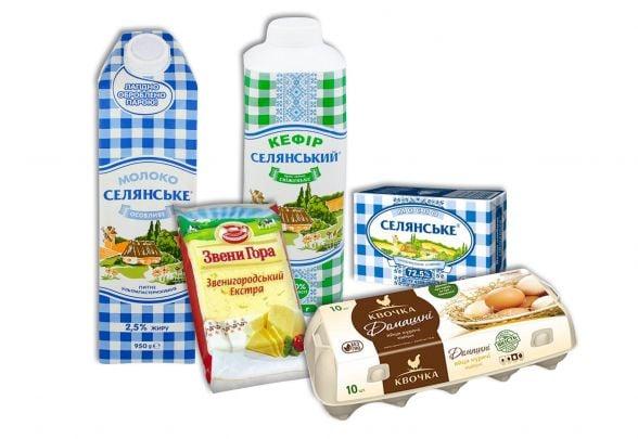 "Продуктовий набір №2 ""Молочний"": молоко 2,5% жирн. - 1 уп. (950гр); сир твердий - 1 уп. (160гр); кефір 1% жирн.  - 1уп (950гр); масло 72,5% жирн. - 1уп ( 200гр); яйце куряче 10шт - 1уп."