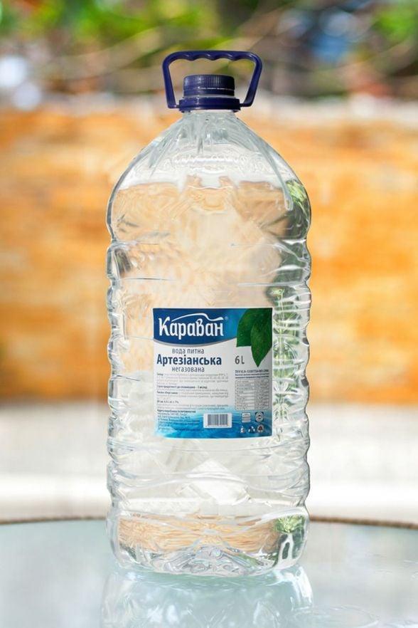 Вода питна очищена Караван, 6л.