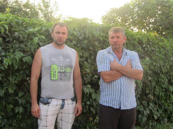 Сергій з батьком