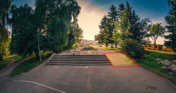 Принуждение в парке