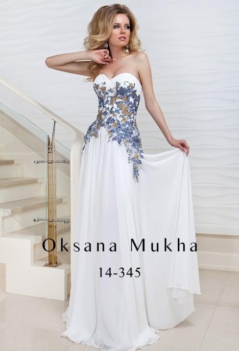 Такі сукні відрізняються незвичністю і ефектністю. Об ємна вишивка - одна з  модних тенденцій 2017 року. Це може бути рослинний 40f7693cb62a8