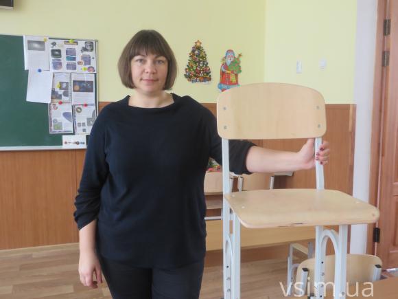 Людмила Сороковська, заступниця голови батьківського комітету школи №8