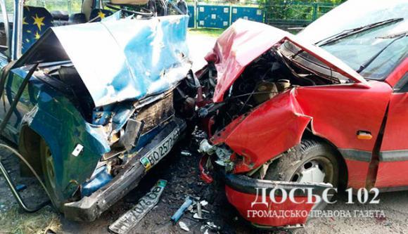 Внаслідок ДТП наТернопільщині загинули троє людей